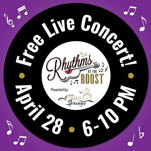 April 2018 Rhythms at the Roost