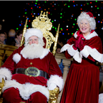 Santa and Mrs. Claus