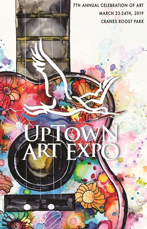 Uptown Art Expo Event Poster