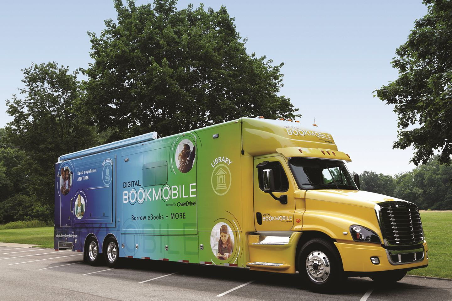 OverDrive Digital Bookmobile