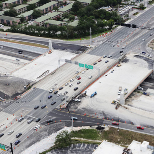 Aerial View of S.R. 436 and I-4 Interchange