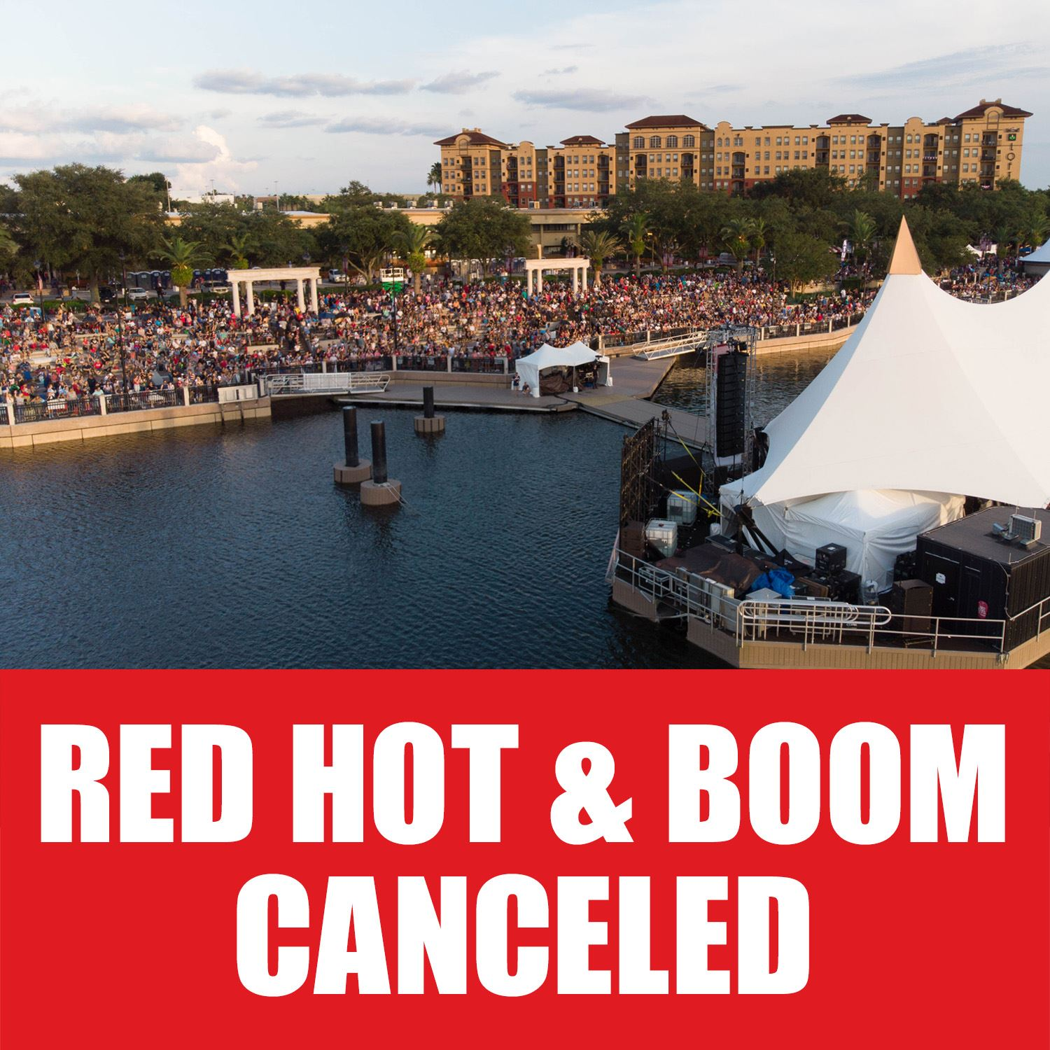Red Hot & Boom Canceled